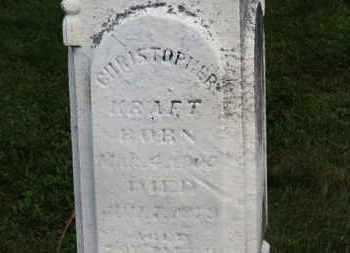 KRAFT, CHRISTOPHER - Marion County, Ohio | CHRISTOPHER KRAFT - Ohio Gravestone Photos