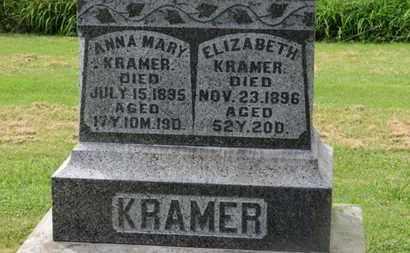 KRAMER, ELIZABETH - Marion County, Ohio | ELIZABETH KRAMER - Ohio Gravestone Photos