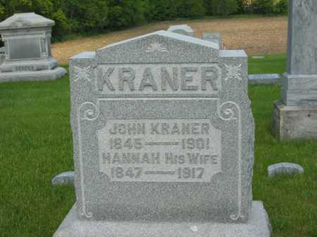 KRANER, JOHN - Marion County, Ohio | JOHN KRANER - Ohio Gravestone Photos