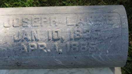 LANCE, JOSEPH - Marion County, Ohio | JOSEPH LANCE - Ohio Gravestone Photos