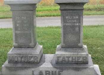 LARUE, WILLIAM - Marion County, Ohio | WILLIAM LARUE - Ohio Gravestone Photos