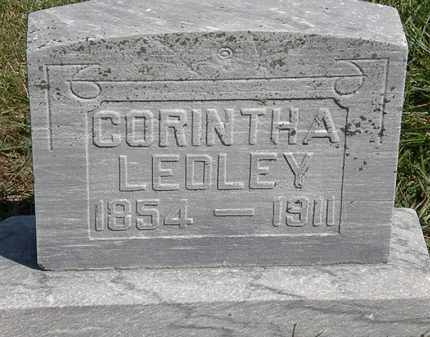 LEDLEY, CORINTHA - Marion County, Ohio   CORINTHA LEDLEY - Ohio Gravestone Photos