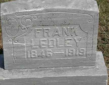 LEDLEY, FRANK - Marion County, Ohio   FRANK LEDLEY - Ohio Gravestone Photos