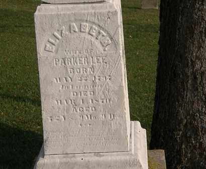 LEE, PARKER - Marion County, Ohio | PARKER LEE - Ohio Gravestone Photos