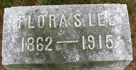 LEE, FLORA S. - Marion County, Ohio | FLORA S. LEE - Ohio Gravestone Photos