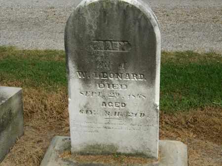LEONARD, MARY - Marion County, Ohio | MARY LEONARD - Ohio Gravestone Photos