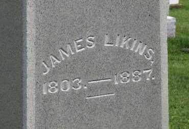 LIKINS, JAMES - Marion County, Ohio   JAMES LIKINS - Ohio Gravestone Photos