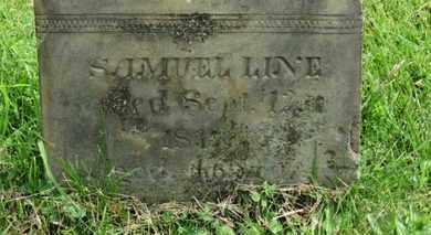 LINE, SAMUEL - Marion County, Ohio | SAMUEL LINE - Ohio Gravestone Photos