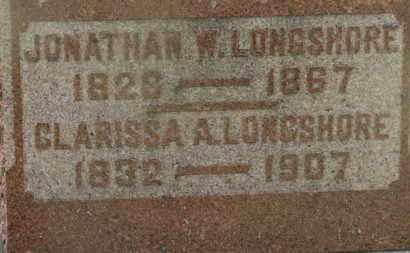 LONGSHORE, JONATHAN W. - Marion County, Ohio   JONATHAN W. LONGSHORE - Ohio Gravestone Photos