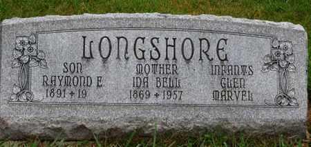 LONGSHORE, IDA BELL - Marion County, Ohio | IDA BELL LONGSHORE - Ohio Gravestone Photos