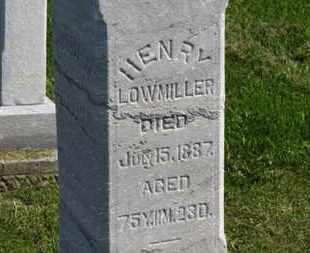 LOWMILLER, HENRY - Marion County, Ohio | HENRY LOWMILLER - Ohio Gravestone Photos