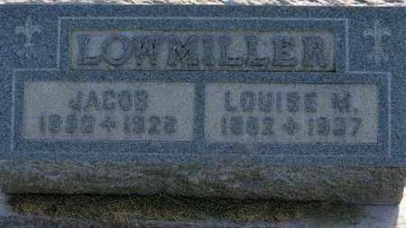 LOWMILLER, JACOB - Marion County, Ohio | JACOB LOWMILLER - Ohio Gravestone Photos