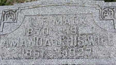 MACK, G.F. - Marion County, Ohio | G.F. MACK - Ohio Gravestone Photos