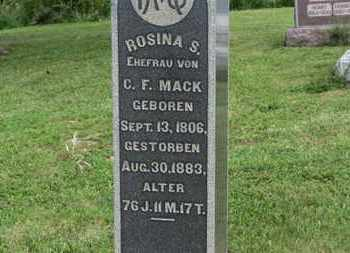 MACK, C.F. - Marion County, Ohio | C.F. MACK - Ohio Gravestone Photos