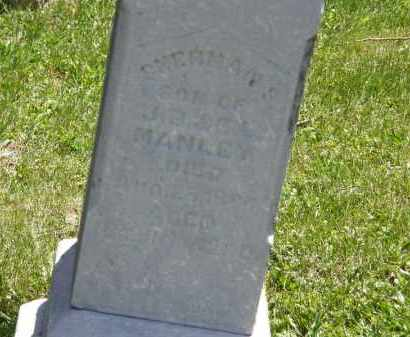 MANLEY, J.B. - Marion County, Ohio | J.B. MANLEY - Ohio Gravestone Photos
