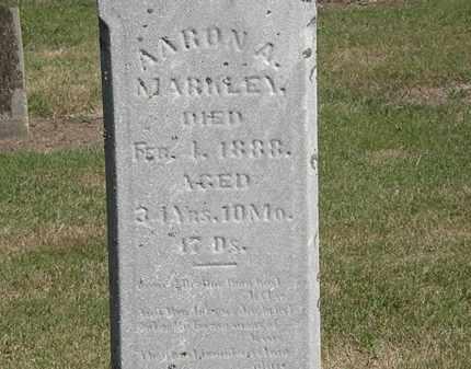 MARKLEY, AARON A. - Marion County, Ohio   AARON A. MARKLEY - Ohio Gravestone Photos