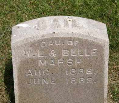 MARSH, GAIL - Marion County, Ohio | GAIL MARSH - Ohio Gravestone Photos