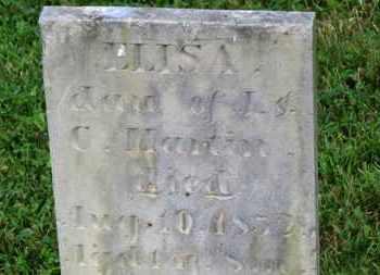 MARTIN, ELISA - Marion County, Ohio | ELISA MARTIN - Ohio Gravestone Photos