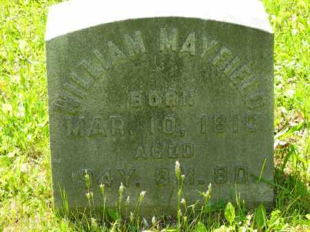 MAYFIELD, WILLIAM - Marion County, Ohio | WILLIAM MAYFIELD - Ohio Gravestone Photos