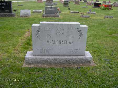 GOMPF MCCLENATHAN, IVAH MAE - Marion County, Ohio | IVAH MAE GOMPF MCCLENATHAN - Ohio Gravestone Photos