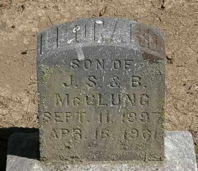 MCCLUNG, J.S. - Marion County, Ohio | J.S. MCCLUNG - Ohio Gravestone Photos