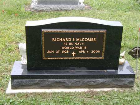 MCCOMBS, RICHARD - Marion County, Ohio | RICHARD MCCOMBS - Ohio Gravestone Photos