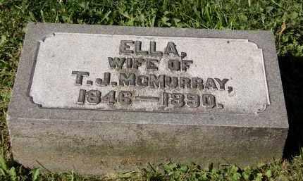 MCMURRAY, T.J. - Marion County, Ohio | T.J. MCMURRAY - Ohio Gravestone Photos