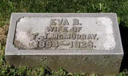 MCMURRAY, EVA B. - Marion County, Ohio | EVA B. MCMURRAY - Ohio Gravestone Photos
