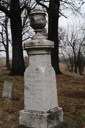 MCWHERTER, JANE - Marion County, Ohio | JANE MCWHERTER - Ohio Gravestone Photos
