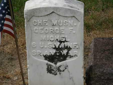 MICHEL, GEORGE F. - Marion County, Ohio   GEORGE F. MICHEL - Ohio Gravestone Photos