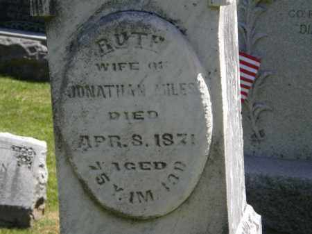 MILES, RUTH - Marion County, Ohio | RUTH MILES - Ohio Gravestone Photos