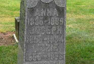 MILLER, ANNA - Marion County, Ohio | ANNA MILLER - Ohio Gravestone Photos