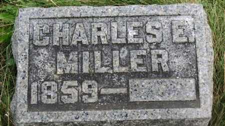 MILLER, CHARLES E. - Marion County, Ohio   CHARLES E. MILLER - Ohio Gravestone Photos