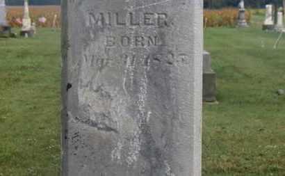 MILLER, G.W. - Marion County, Ohio | G.W. MILLER - Ohio Gravestone Photos