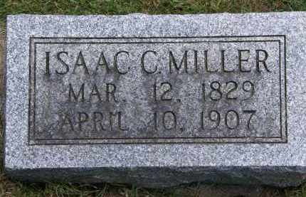 MILLER, ISAAC C. - Marion County, Ohio | ISAAC C. MILLER - Ohio Gravestone Photos