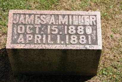 MILLER, JAMES A. - Marion County, Ohio | JAMES A. MILLER - Ohio Gravestone Photos