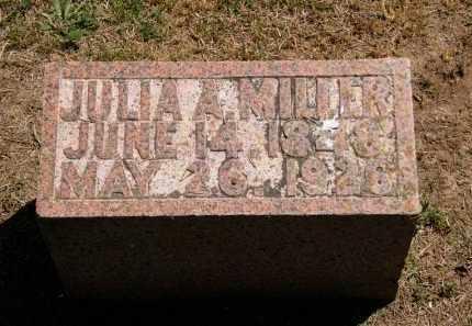 MILLER, JULIA A. - Marion County, Ohio   JULIA A. MILLER - Ohio Gravestone Photos