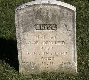 MILLER, J.W. - Marion County, Ohio | J.W. MILLER - Ohio Gravestone Photos