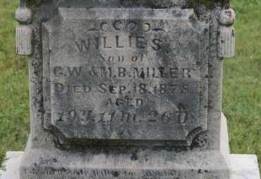 MILLER, WILLIE S. - Marion County, Ohio   WILLIE S. MILLER - Ohio Gravestone Photos