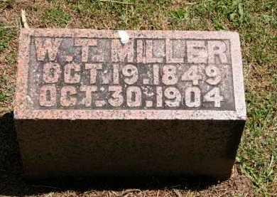 MILLER, W. T. - Marion County, Ohio | W. T. MILLER - Ohio Gravestone Photos
