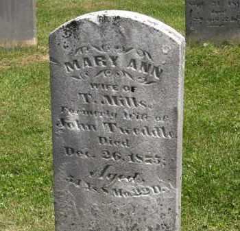 MILLS, T. - Marion County, Ohio | T. MILLS - Ohio Gravestone Photos