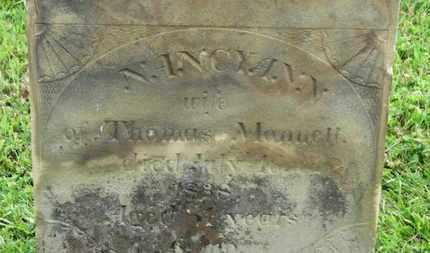 MONNETT, THOMAS - Marion County, Ohio | THOMAS MONNETT - Ohio Gravestone Photos