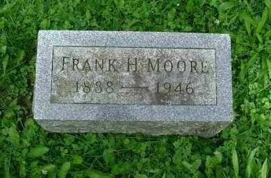 MOORE, FRANK HOMER - Marion County, Ohio   FRANK HOMER MOORE - Ohio Gravestone Photos