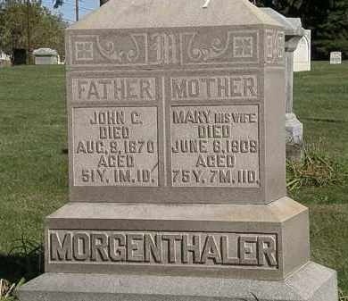MORGENTHALER, MARY - Marion County, Ohio | MARY MORGENTHALER - Ohio Gravestone Photos