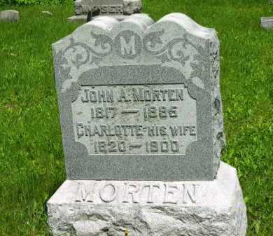 MORTEN, CHARLOTTE - Marion County, Ohio | CHARLOTTE MORTEN - Ohio Gravestone Photos