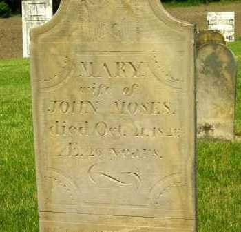 MOSES, MARY - Marion County, Ohio | MARY MOSES - Ohio Gravestone Photos