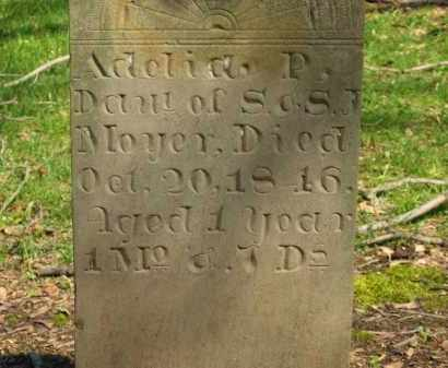 MOYER, S. - Marion County, Ohio | S. MOYER - Ohio Gravestone Photos