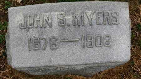 MYERS, JOHN S. - Marion County, Ohio   JOHN S. MYERS - Ohio Gravestone Photos