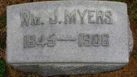 MYERS, WM. J. - Marion County, Ohio | WM. J. MYERS - Ohio Gravestone Photos
