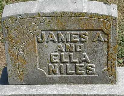 NILES, JAMES A. - Marion County, Ohio | JAMES A. NILES - Ohio Gravestone Photos